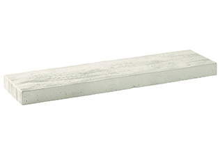 BisoART Lignum-Line Terrassenbohle in Holzoptik Weiß